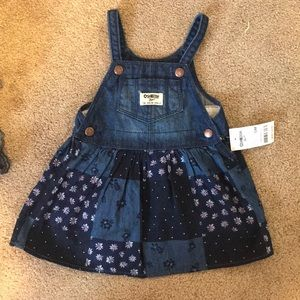 Osh Kosh jean patchwork dress